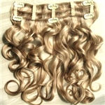 Remy Quality Brazilian 100% Human Clip In Hair Extensions - Super Spring Curl