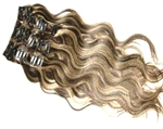 Remy Quality European 100% Human Clip In Hair Extensions - Body Wave