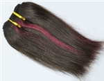 Remy Quality Indian 100% Human Hair Extensions - Silky Straight