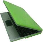 "Open Box Green 7"" Mini Netbook Laptop Notebook With WIFI"