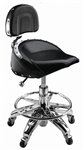 Leather Hydraulic Bar Stool