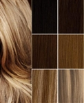 "Salon Grade Remy Quality Clip In Full Head 12"" Human Hair Extensions - Choose Your Color"
