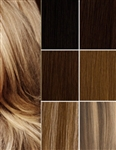 Salon Grade Remy Quality Clip In Full Head Human Hair Extensions - Choose Your Color & Length