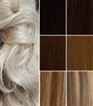 Salon Grade Remy Quality Double Wefted Clip In Full Head Human Hair Extensions - Choose Your Color & Length