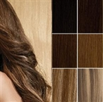 Salon Grade Remy Quality Clip In Half Head Human Hair Extensions - Choose Your Color & Length