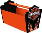 Brand New Harley-Davidson Flames Toy Caddy