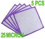 Hash Bubble Bags Pressing Screen 25 Micron 5 Pieces