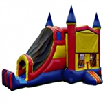 Commercial Grade Inflatable 3in1 Module Slide Combo