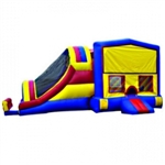 Commercial Grade Inflatable 3in1 Module Super Slide Combo Bouncy House