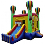 Commercial Grade Inflatable Adventure Balloon 2in1 Combo Bouncy House