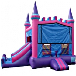 Commercial Grade Inflatable Royal Module Castle 2in1 Combo Bouncy House
