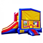 Commercial Grade Inflatable Module Slide 2in1 Combo Bouncy House