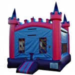 Commercial Grade Inflatable Girls Royal Princess Castle Bouncer Bouncy House