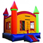 Commercial Grade Inflatable Rainbow Jump Castle Bouncer Bouncy House