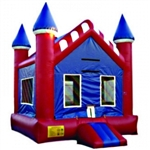 Commercial Grade Inflatable American Castle Bouncer Bouncy House