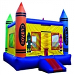 Commercial Grade Inflatable Crayon Jumper Bouncer Bouncy House