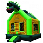 Commercial Grade Inflatable Dinosaur Jumper Bouncer Bouncy House