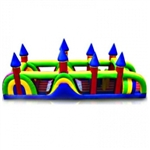 Commercial Grade Inflatable Castle Peaks Obstacle Course