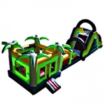 Commercial Grade Inflatable Jungle Obstacle Course