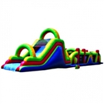 Commercial Grade Inflatable Super Deluxe Obstacle Course