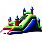 Commercial Grade Inflatable Deluxe Castle Slide