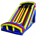 Commercial Grade Inflatable Deluxe Double Lane Slide