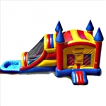 Commercial Grade Inflatable Castle  Water Combo Bouncy House