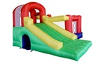 Multiple Activity Inflatable 7 In 1 Castle Bouncer Bouncy House
