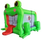 Frog Inflatable Bounce House Bouncy House w/ Blower