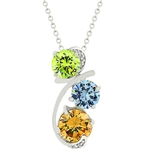 Spring Stylin' Pendant Necklace