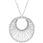 Contemporary Circle Pendant