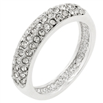 Silvertone Beauty Ring