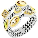 Pizzazz Contemporary Ring