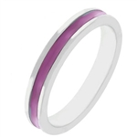 Fun For Eternity Ring in Fuchsia