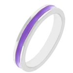 Fun For Eternity Ring in Purple