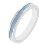 Fun For Eternity Ring in Matte Aqua