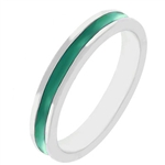 Fun For Eternity Ring in Emerald Green