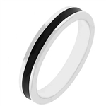 Fun For Eternity Ring in Black