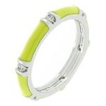 Yellow Green Enamel Stacker