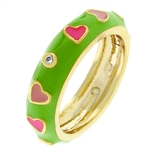 Pinky Hearts Ring