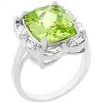 Green Ice Cocktail Ring