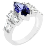 Tanzanite Twist Ring