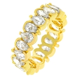 Pear'd in Eternity Ring