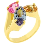 Pear Drops Ring