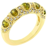 Olive Fusion Ring