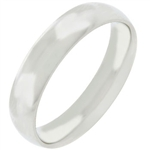 5mm Stainless Steel Band Ring