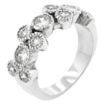 Anniversary Brilliance Cubic Zirconia Ring
