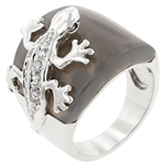 Reptilian Lizard Fashion Ring