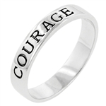 Courage Engravement Ring
