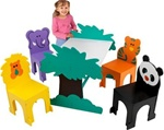 Brand New Jungle Table & Chair Set